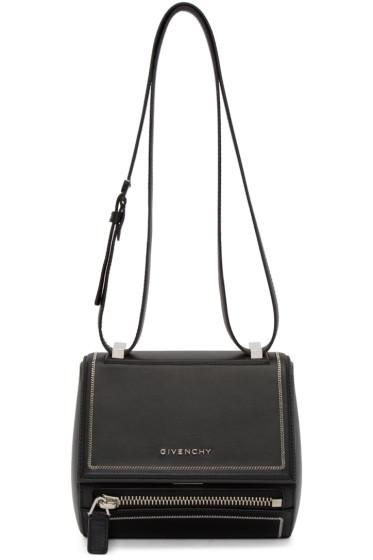 Givenchy - Black Mini Pandora Box Bag