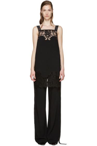 Givenchy - Black Lace Camisole Jumpsuit