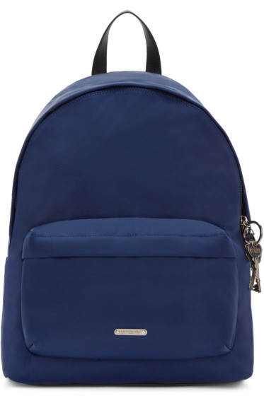 Givenchy - Blue Canvas Keys Backpack