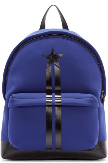 Givenchy - Blue Neoprene Backpack