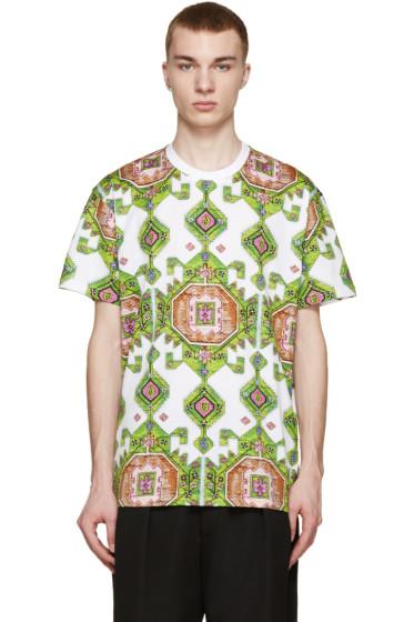 Givenchy - Green Carpet Print T-Shirt