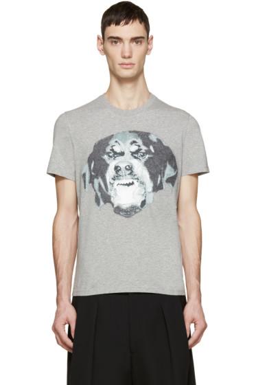 Givenchy - Grey Rottweiler T-Shirt