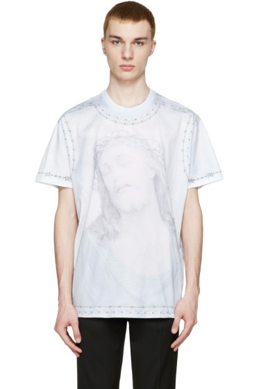 Givenchy - Blue Jesus T-Shirt