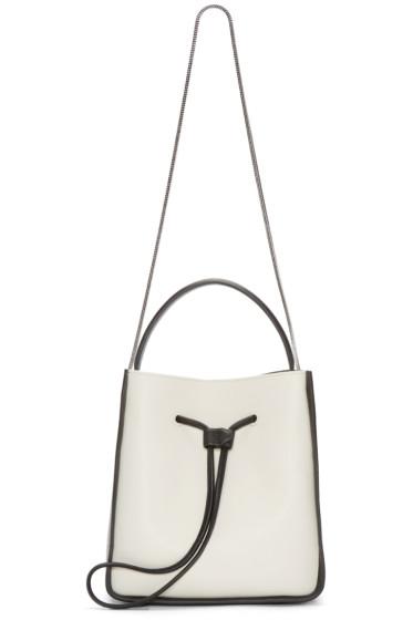 3.1 Phillip Lim - Black & White Stingray Soleil Bucket Bag
