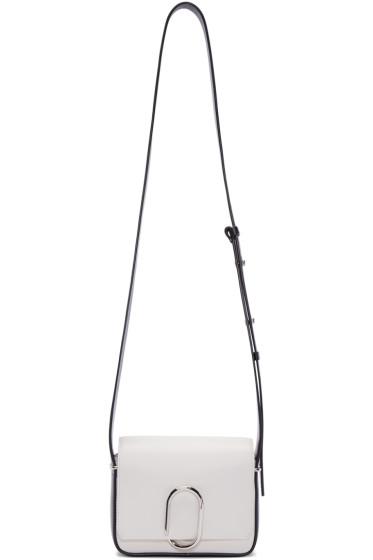 3.1 Phillip Lim - Off-White & Black Mini Alix Shoulder Bag