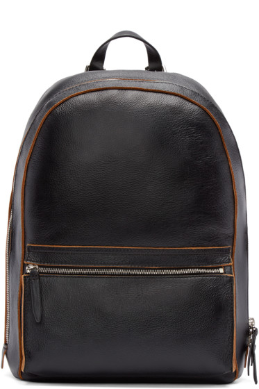 3.1 Phillip Lim - Black Grained Leather Honor Backpack