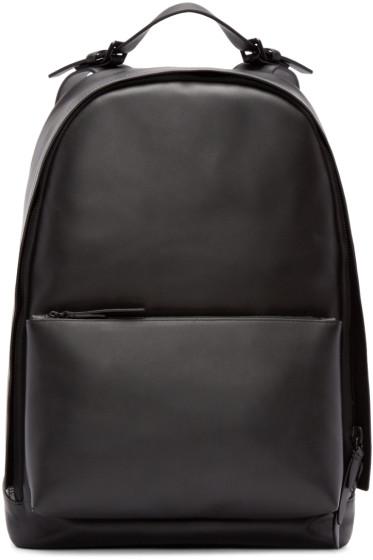 3.1 Phillip Lim - Black Leather 31 Hour Backpack