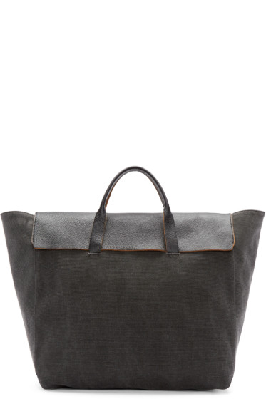 3.1 Phillip Lim - Grey Canvas Honor Tote