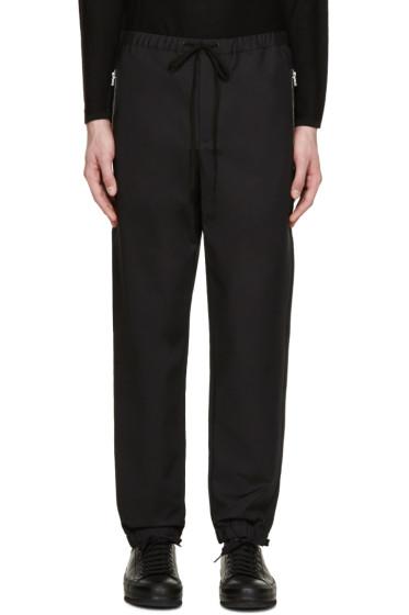 3.1 Phillip Lim - Black Drawstring Trousers