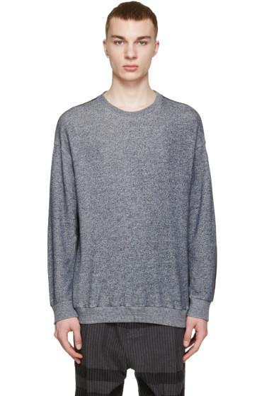 3.1 Phillip Lim - Navy Contrasting Pullover