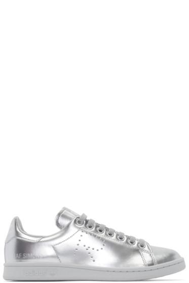 Raf Simons - Silver Metallic Stan Smith adidas by RAF SIMONS Sneakers