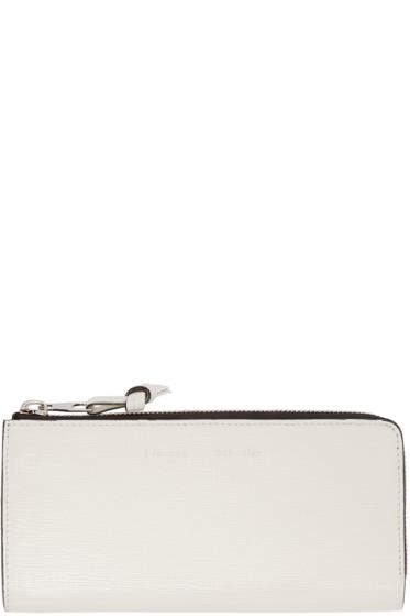 Proenza Schouler - Ivory Slim Zip Wallet