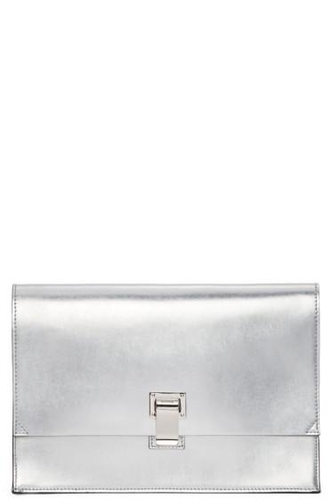 Proenza Schouler - Silver Small Lunchbag Clutch