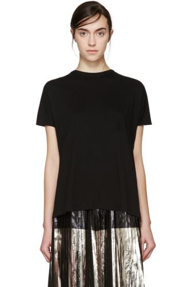 Proenza Schouler - Black Tie Back T-Shirt