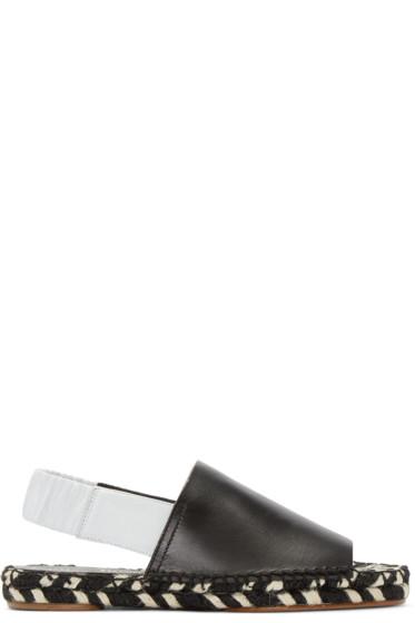 Proenza Schouler - Black Espadrille Sandals