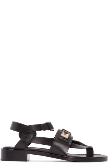 Proenza Schouler - Black Rava Sandals