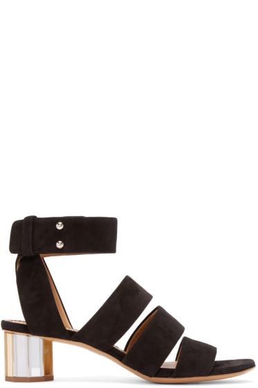 Proenza Schouler - Black Suede Sandals