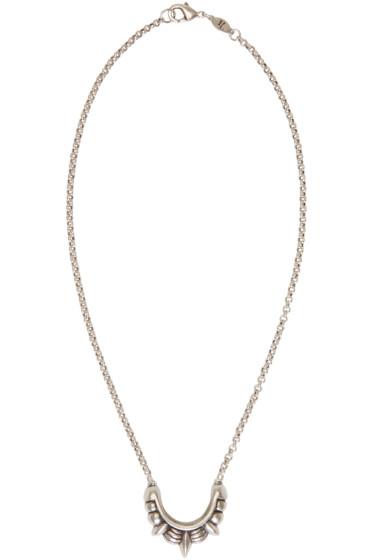 Pamela Love - Silver Small Tribal Spike Necklace