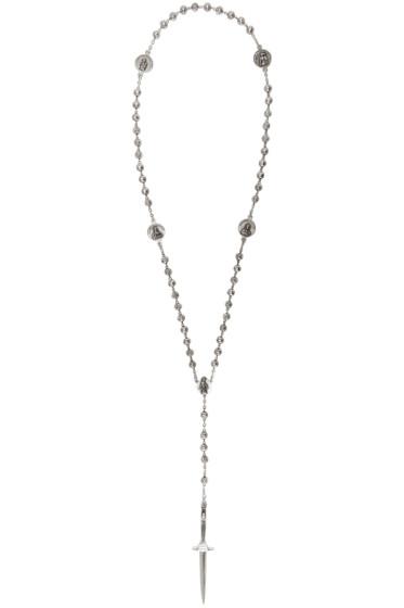 Pamela Love - Silver Rosebud & Dagger Rosary