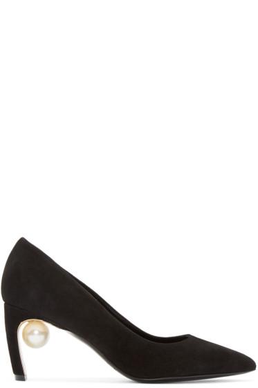 Nicholas Kirkwood - Black Maeva Pearl Pumps