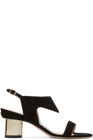 Nicholas Kirkwood - Black Suede Leda Sandals