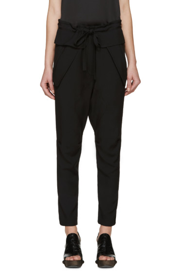Chloé - Black Crepe Trousers