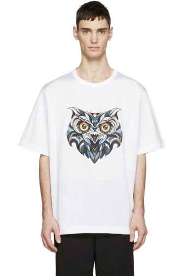 Juun.J - White Owl Andreas Preis Edition T-Shirt