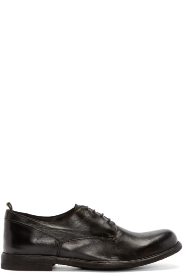 Officine Creative - Black Leather Derbys