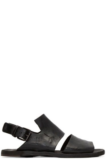 Officine Creative - Black Kimolos Sandals