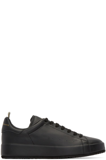 Officine Creative - Black Ace Sneakers