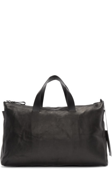 Marsèll - Black Leather Monouso Duffle Bag