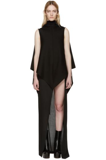 Gareth Pugh - Black Knit Versatile Vest