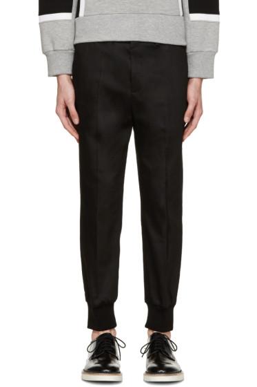 Neil Barrett - Black Gabardine Trousers