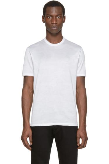 Neil Barrett - White Camouflage T-Shirt