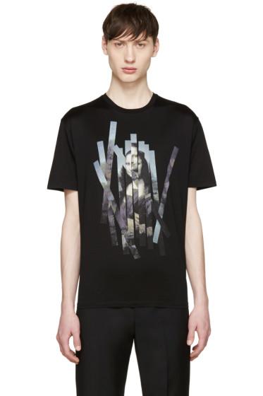 Neil Barrett - Black Mona Lisa T-Shirt