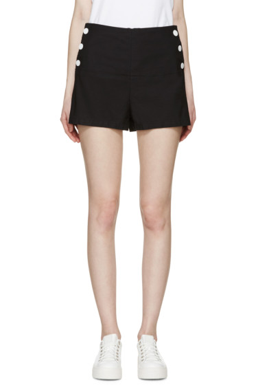 See by Chloé - Navy High-Rise Shorts