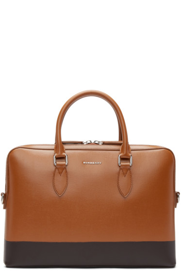 Burberry Prorsum - Brown Leather Briefcase