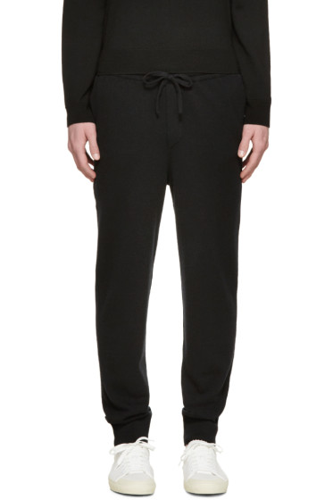 Burberry Prorsum - Black Cashmere Lounge Pants