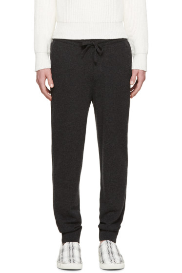 Burberry Prorsum - Grey Cashmere Lounge Pants