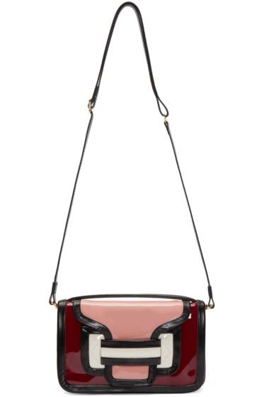 Pierre Hardy - Multicolor Patent Leather Alpha Bag