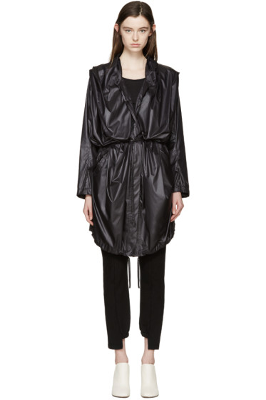 Ann Demeulemeester - Black Astrid Coat