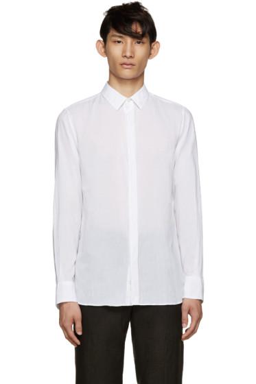 Ann Demeulemeester - White Poplin Shirt