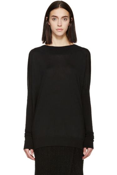 Marni - Black Wool & Silk Sweater