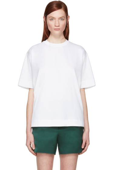 Marni - White Basic T-Shirt