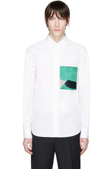 Marni - White Painterly Jack Davidson Edition Shirt