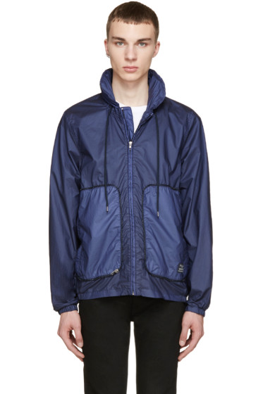 Paul Smith Jeans - Navy Stowaway Hooded Jacket