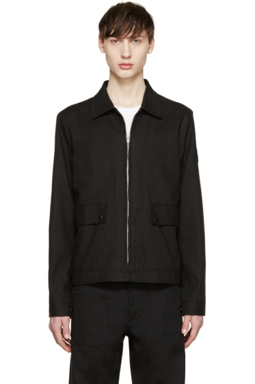 Paul Smith Jeans - Black Linen Jacket