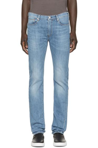 Paul Smith Jeans - Blue Light Wash Slim Jeans