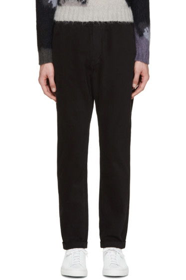 Paul Smith Jeans - Black Twill Standard-Fit Chinos