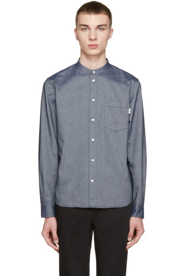 Paul Smith Jeans - Navy Tailored Denim Shirt